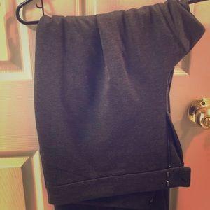 Eloquii grey work pants